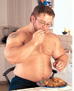 Lose fat eating salad