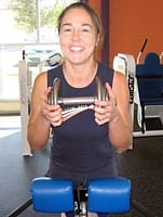 Dumbbell Held to Chest