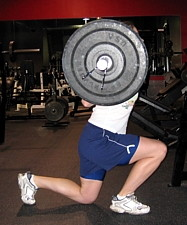Quad Dominant Split Squat
