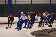 Pack Style Speed Skating