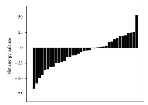 Variability in Energy Balance