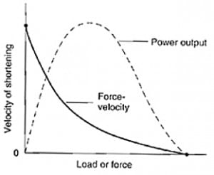 Force Velocity Power Curve