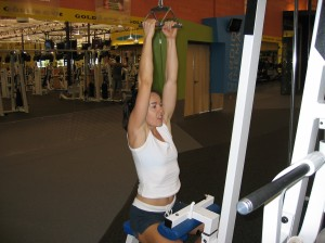 Parallel Grip Pulldown Start