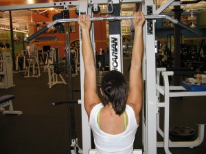 Undergrip Pulldown Back View