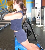 Hyperextension of the Low Back